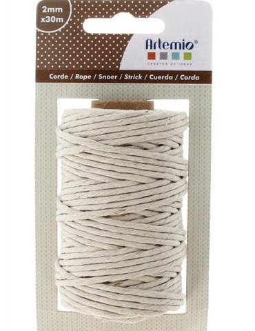 Corde blanche - 2mmx30m - Artemio