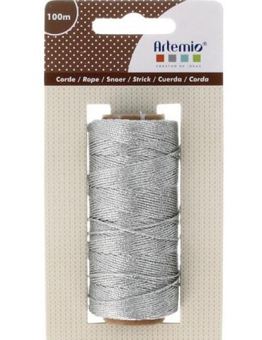 Ficelle décorative Argent - 0,5mm x100m - Artemio