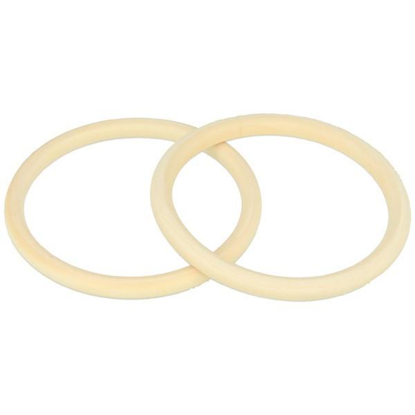 Bracelet anneau en bois - Bracelet à décorer - Largeur 8mm - Lucy By Artemio