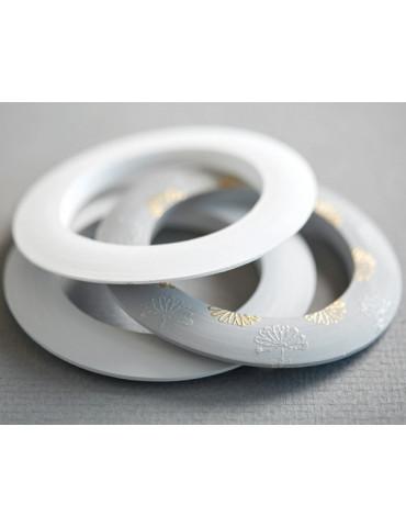 Bracelet bois plat 15mm - Ø...