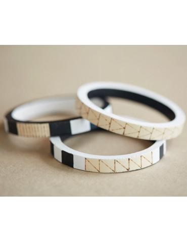 Bracelet bois rond 10mm - Ø...