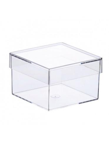 Boite plastique carrée 75mm