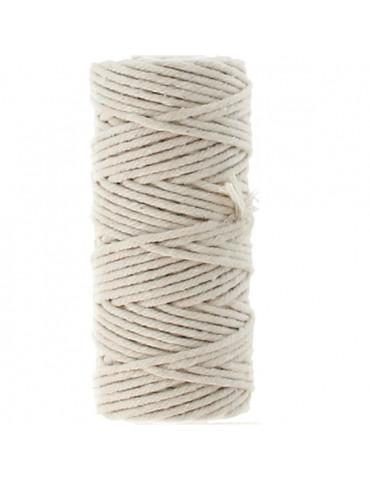 Coton macramé - 2,5mm x 25m...