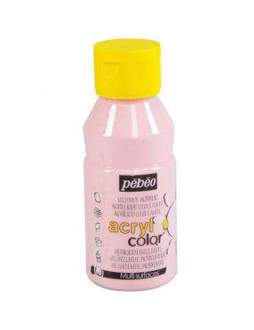 Peinture acrylique Pébéo - ACRYLCOLOR Rose pastel 150ml