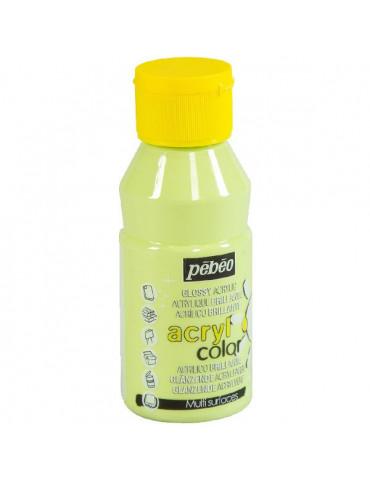 Peinture acrylique Pébéo - ACRYLCOLOR Vert pastel 150ml