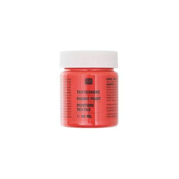 Peinture textile Orange - 40ml - Rico Design