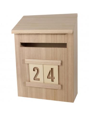 Boite Calendrier De Lavent.Calendrier De L Avent Boite Aux Lettres 28cm