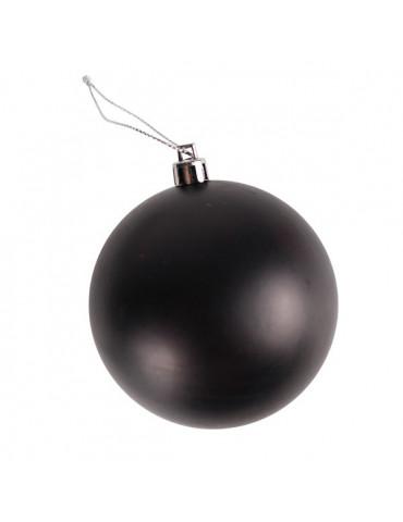 Boule plastique effet tableau noir - 60mm x4