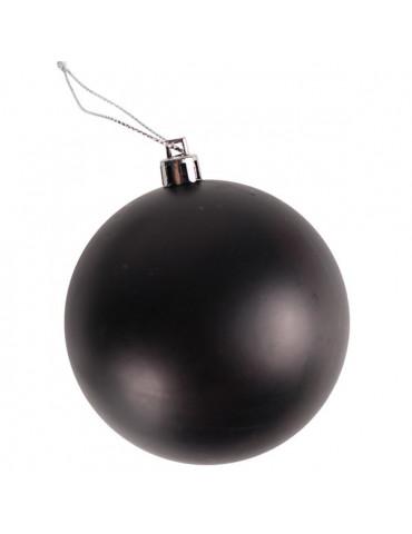 Boule plastique effet tableau noir - 80mm x2