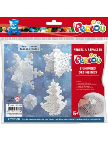 Perlou - Kit perles à repasser Univers des neiges - DTM