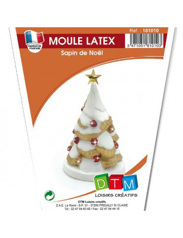 Moule latex - Sapin de Noël