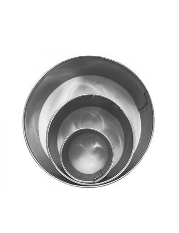 Emporte-pièces métal Rond x3