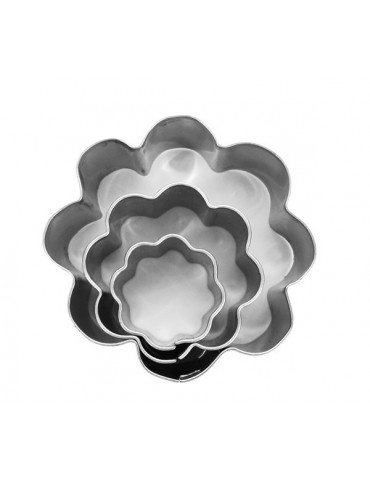 Emporte-pièces métal Fleurs x3