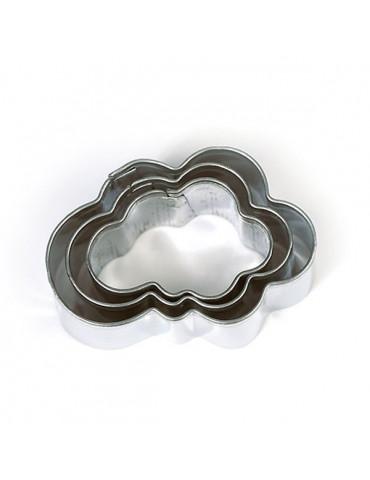 Emporte-pièces métal - Nuage x3