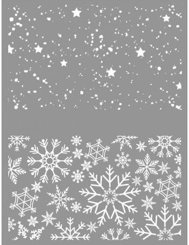 Pochoir pour pâte polymère - Noël - Graine Créative