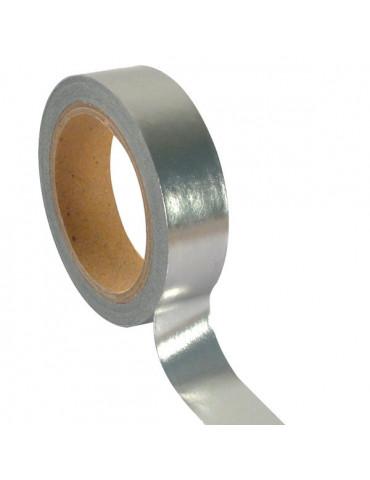 Masking tape Foil Argent - 15mm x5m