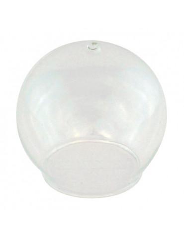 Boule ouverte à suspendre en verre - 8cm