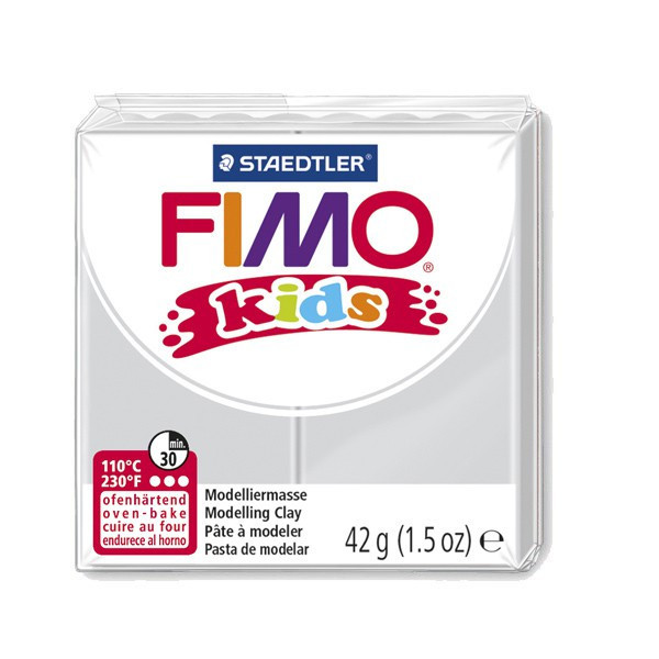 Fimo Kids Gris clair n°80