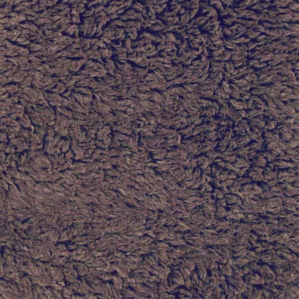 Coupon tissu peluche coton Antique brun - 50x150cm - Fabrication ours en peluche