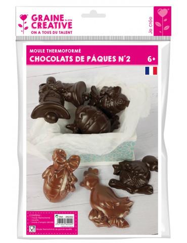 Moule chocolats de paques n°2
