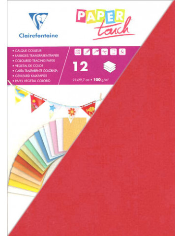 Papier calque rouge Paper...