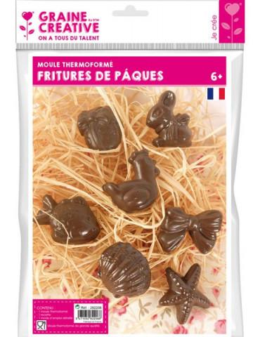 Moule chocolat - Fritures de Pâques - Sujets