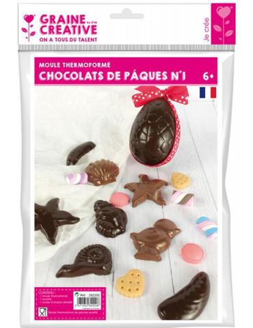 Moule chocolats de Pâques -...