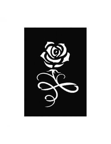 Pochoir adhésif PM - Rose