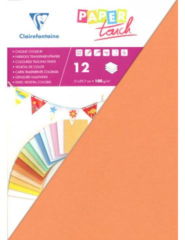 Calque abricot Paper Touch x12