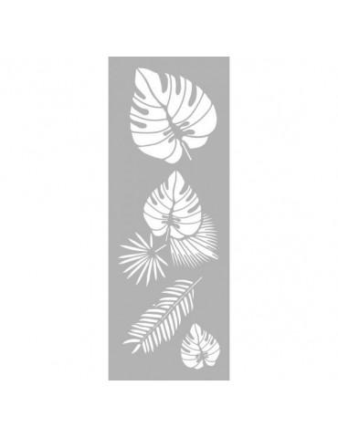 Pochoir décor Tropical 15x40cm
