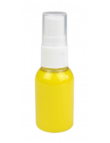 Spray peinture textile Jaune - 30ml