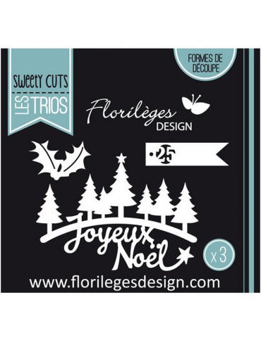 Dies Sweety Cuts - Sapins de Noël - Florilèges Design