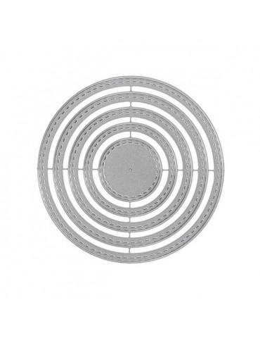 Dies Florilèges Design - Cercles basiques x5