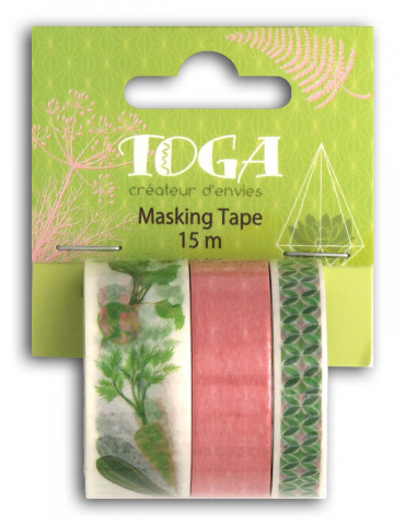 Masking tape - Oh my Green - Toga