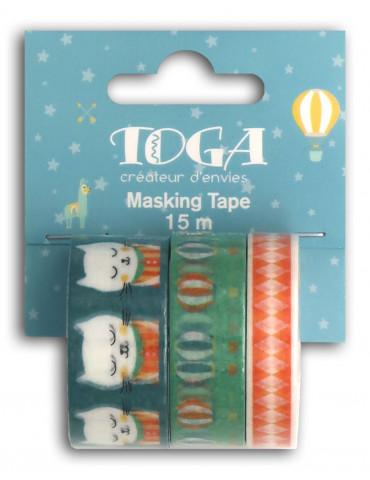 Masking tape - Léonard x3 -...