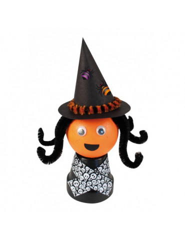 Rubans Halloween 1,5cm x1m...