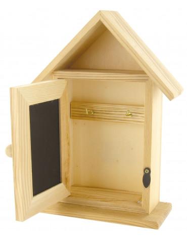 Boite à clés maison en bois...