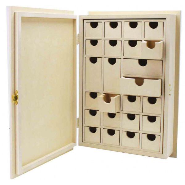 Livre de l 39 avent bois calendrier de l 39 avent d corer ctop - Calendrier de l avent en bois a decorer ...