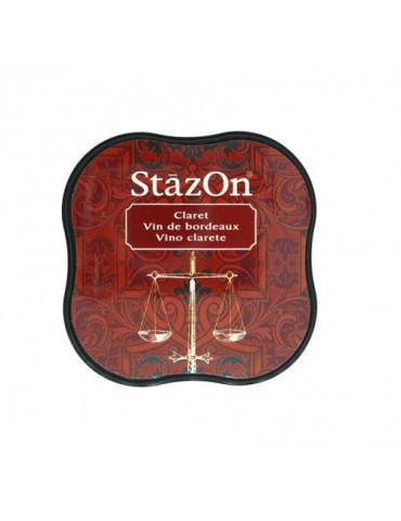 Encre StazOn Midi Vin de Bordeaux (Claret) - Tsukineko