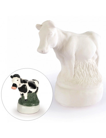 Moule latex - Vache 9cm
