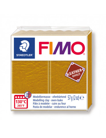Fimo Effect cuir Ocre (8010-179) - 57g