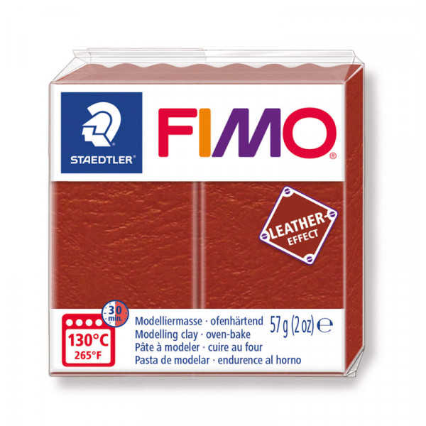Fimo Effect cuir Rouille (8010-749)- 57g