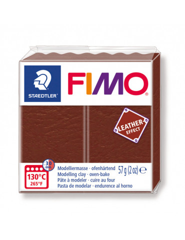 Fimo Effect cuir Marron (8010-779) - 57g