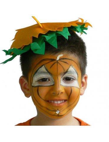 GRIM'TOUT - Palette maquillage 4 couleurs - Tigre et Citrouille