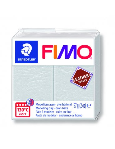 Fimo Effect cuir Ivoire - 57g