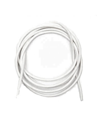 Cordon cuir blanc 1mm /1m x10