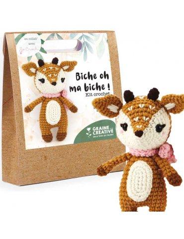 Kit crochet - Biche oh ma...