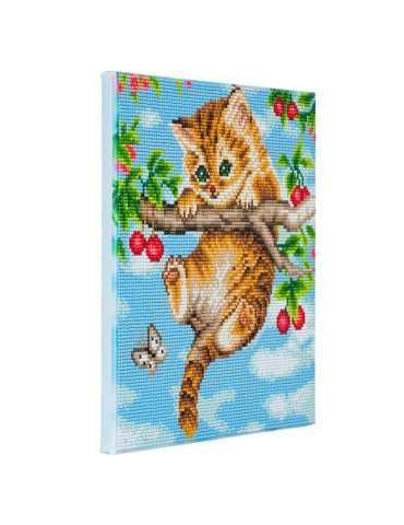 Kit broderie diamant Chaton...