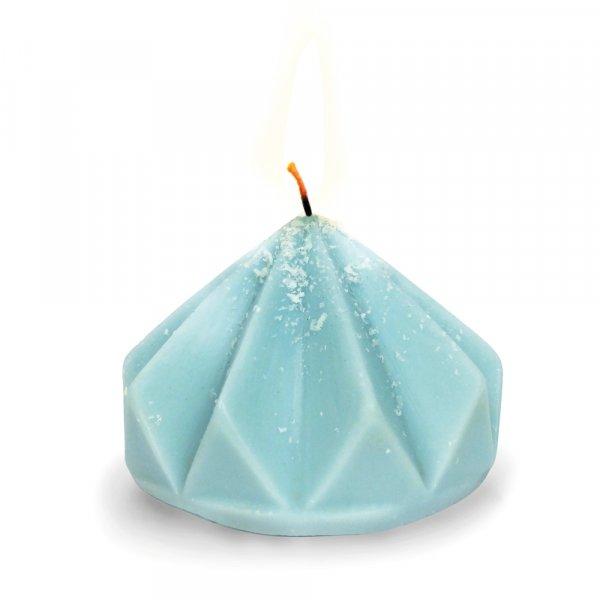 Moule pour bougie latex - Origami Diamant 8cm - Graine Créative