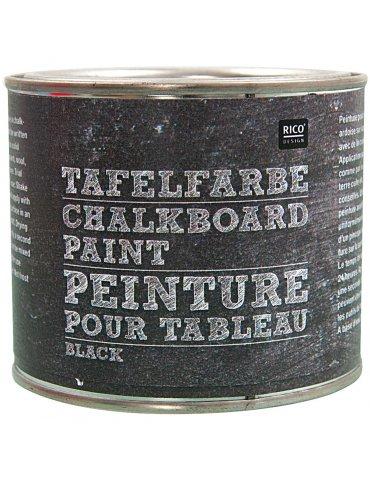 Peinture ardoise noir Rico Design - Pot 250 ml